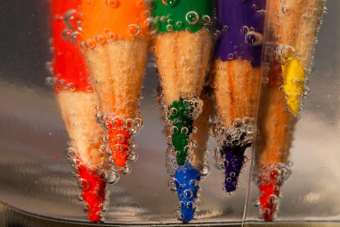 ぶくぶく色鉛筆